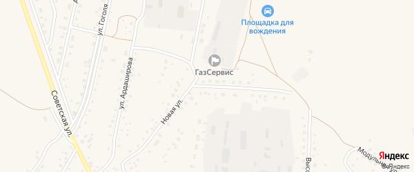 Новая улица на карте села Кармаскалы с номерами домов