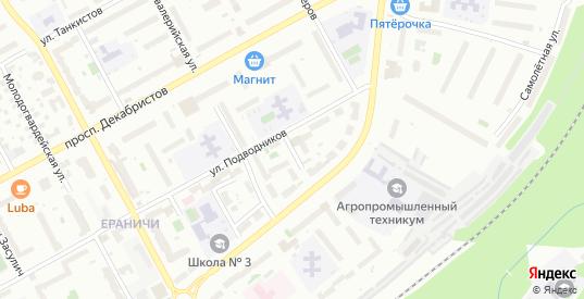 Конноармейская улица в Перми с номерами домов на карте. Спутник и схема онлайн