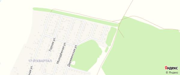 Улица Свободы на карте деревни Шамонино Башкортостана с номерами домов