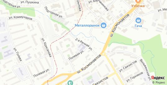 Самолетная 2-я улица в Перми с номерами домов на карте. Спутник и схема онлайн