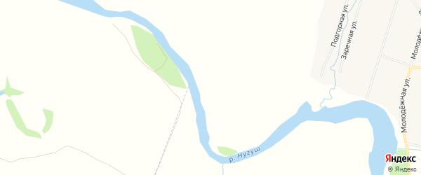 Территория база отдыха Дубрава на карте Мелеузовского района Башкортостана с номерами домов