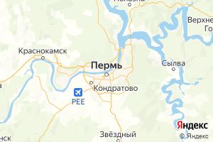 Карта г. Пермь Пермский край