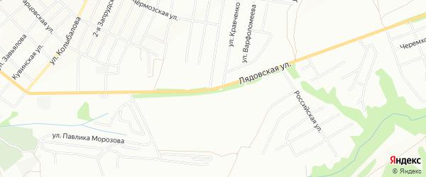 ГСК ГК 81 ул. Лядовская (Запруд) на карте Перми с номерами домов