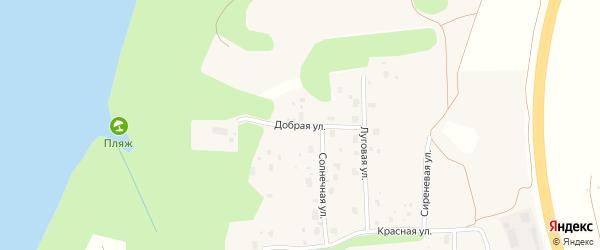 Добрая улица на карте территории Малой медведицы с номерами домов