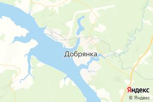 Карта г. Добрянка Пермский край