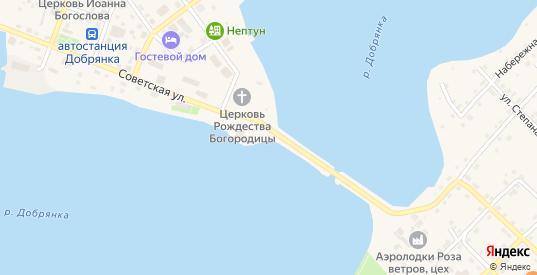 Набережная улица в поселке Ольховка в Добрянке с номерами домов на карте. Спутник и схема онлайн