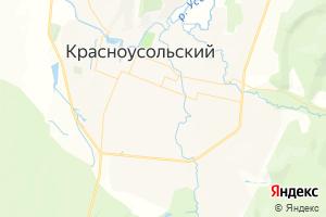 Карта с. Красноусольский
