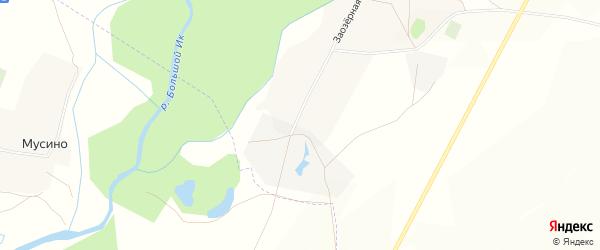 Карта Новопокровского села в Башкортостане с улицами и номерами домов