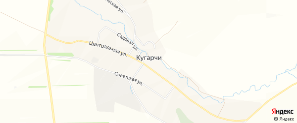 Карта села Кугарч в Башкортостане с улицами и номерами домов