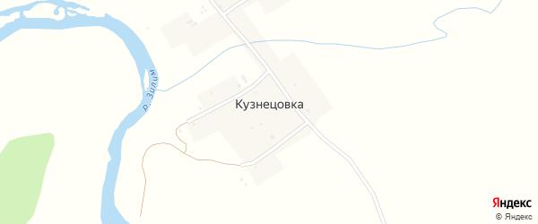 Покровская улица на карте деревни Кузнецовки с номерами домов