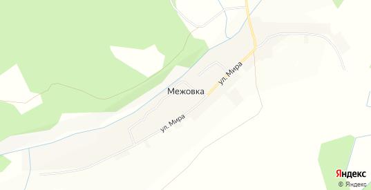 Карта деревни Межовка в Пермском крае с улицами, домами и почтовыми отделениями со спутника онлайн