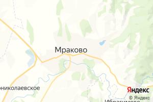 Карта с. Мраково Республика Башкортостан