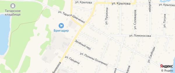 Улица П.Морозова на карте Усолья с номерами домов