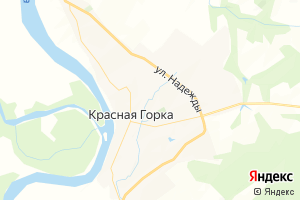 Карта с. Красная Горка