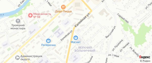 1 Мая улица на карте Соликамска с номерами домов