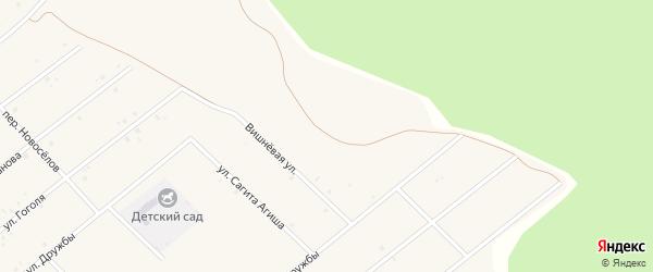 Новая улица на карте села Абызово Башкортостана с номерами домов