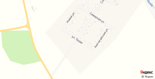 Улица Труда в деревне Михино в Пермском крае с номерами домов на карте. Спутник и схема онлайн