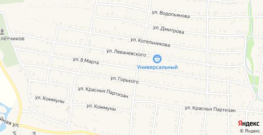 Улица 8 Марта в Аше с номерами домов на карте. Спутник и схема онлайн