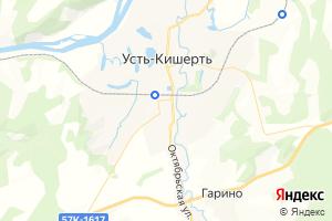 Карта с. Усть-Кишерть