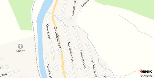 Самарская улица в Аше с номерами домов на карте. Спутник и схема онлайн