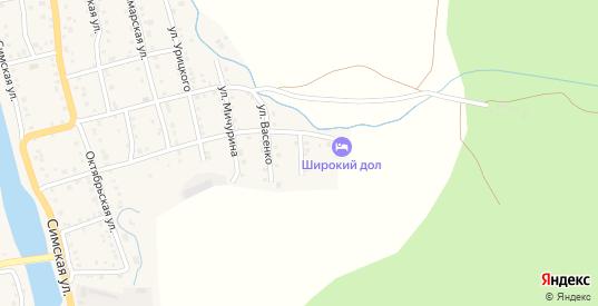 Садовая улица в Аше с номерами домов на карте. Спутник и схема онлайн
