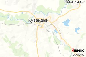 Карта г. Кувандык Оренбургская область