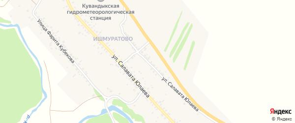 Улица С.Юлаева на карте Кувандыка с номерами домов