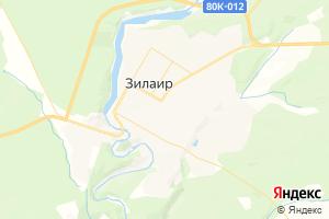 Карта с. Зилаир Республика Башкортостан