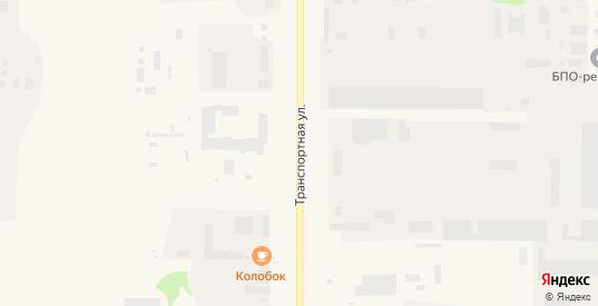 Транспортная улица в Усинске с номерами домов на карте. Спутник и схема онлайн