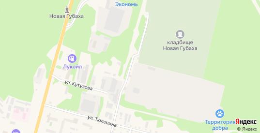 Улица Пугачева в Губахе с номерами домов на карте. Спутник и схема онлайн