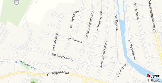Улица Гоголя в Симе с номерами домов на карте. Спутник и схема онлайн