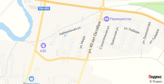 Улица Мира в Симе с номерами домов на карте. Спутник и схема онлайн