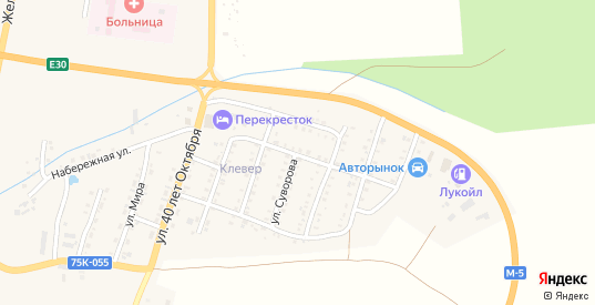 Улица Победы в Симе с номерами домов на карте. Спутник и схема онлайн