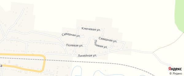 Северная улица на карте Сима с номерами домов