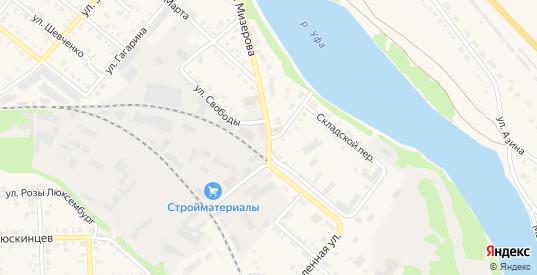 Перевалочная улица в Красноуфимске с номерами домов на карте. Спутник и схема онлайн
