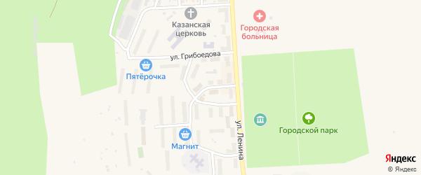 Улица Свердлова на карте Гремячинска с номерами домов