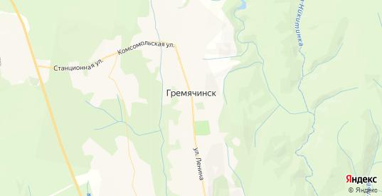 Карта Гремячинска с улицами и домами подробная. Показать со спутника номера домов онлайн