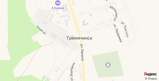 Улица Чехова в Гремячинске с номерами домов на карте. Спутник и схема онлайн