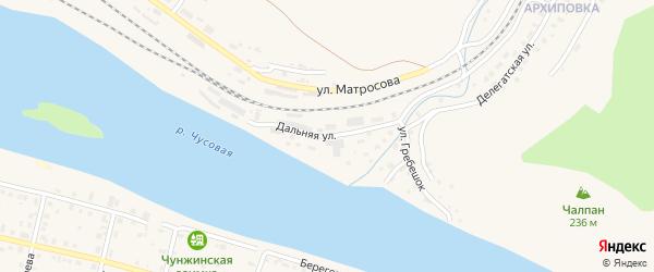 Улица Гребешок на карте Чусового с номерами домов