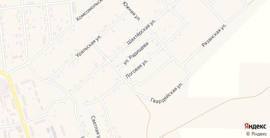 Логовая улица в Гремячинске с номерами домов на карте. Спутник и схема онлайн