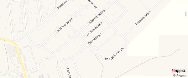 Логовая улица на карте Гремячинска с номерами домов