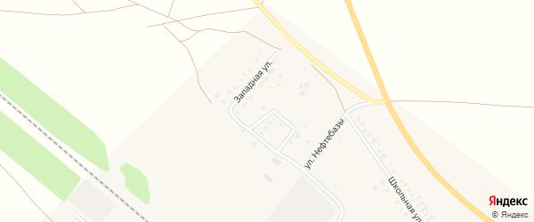 Молодежная улица на карте железнодорожной станции Сары Оренбургской области с номерами домов