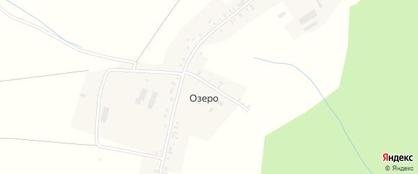 Школьный переулок на карте села Озера с номерами домов