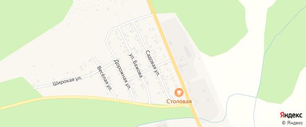 Садовая улица на карте Катава-Ивановска с номерами домов