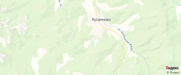 Карта Шигаевского сельсовета Республики Башкортостана с районами, улицами и номерами домов
