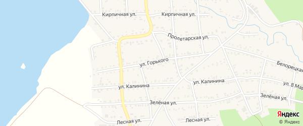 Улица Горького на карте Катава-Ивановска с номерами домов