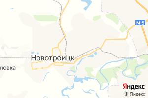 Карта г. Новотроицк