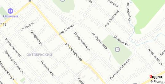 Огнеупорная улица в Белорецке с номерами домов на карте. Спутник и схема онлайн