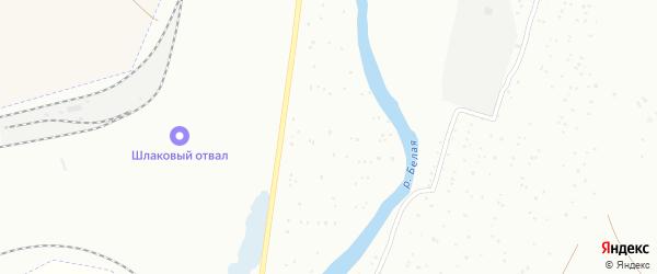 Участок УПП ВОС на карте Белорецка с номерами домов
