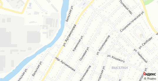 Каменная улица в Белорецке с номерами домов на карте. Спутник и схема онлайн